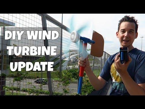 DIY Wind Turbine Update