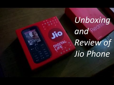 [Hindi-हिन्दी] Jio Phone Unboxing and Review