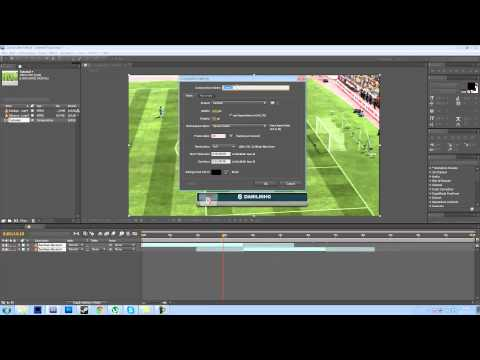 After effects tutorial 2 - moving and cutting clips