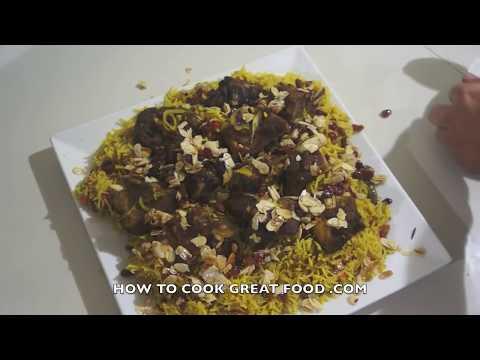 Arabic Lamb Kabsa Recipe - Middle Eastern Arab Machbus Machboos كبسة - مكبوس
