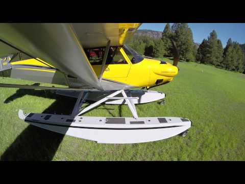 Flying the Carbon Cub on Floats