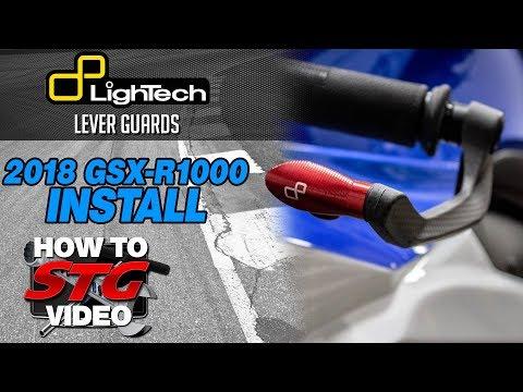 Lightech Suzuki GSX-R1000 Lever Guard Install | Sportbike Track Gear