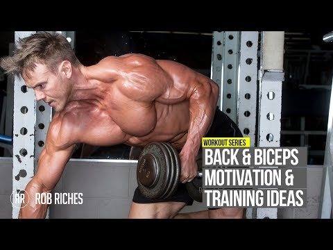 BACK & BICEPS Training Motivation | Rob Riches