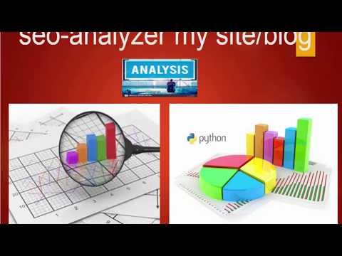 seo-analyzer my site/blog