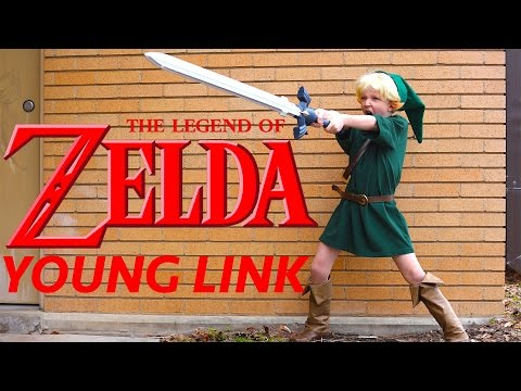 How To Make A Young Link Costume Zelda Ocarina Of Time!