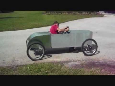 Homemade car - First drive with bodywork