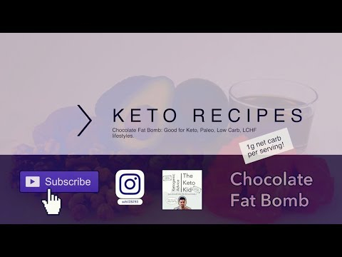 Keto Fat Bomb Recipe   Keto Recipes   Ketogenic Diet   The Keto Kid