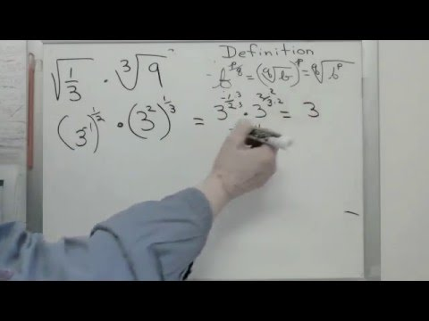Fractional Exponents 10-1