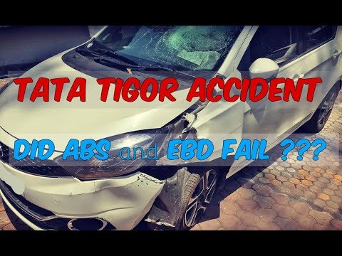 Did ABS & EBD Fail ??? | TATA Tigor Accident | First Hand Report