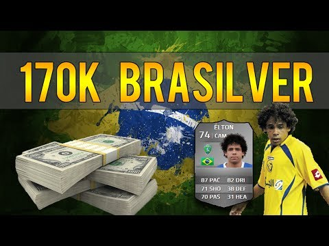 FIFA 14 - 170k Insane 5 Star Skill Brasilver Team | Squad Builder #4