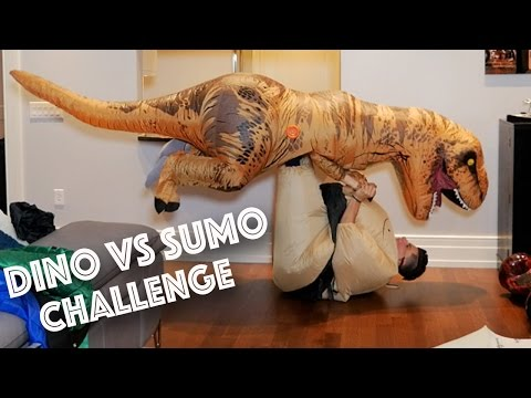 T-REX VS SUMO CHALLENGE