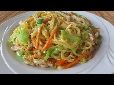 Chicken Chow Mein (Stir Fry Noodles) Reicpe / 雞絲炒麵