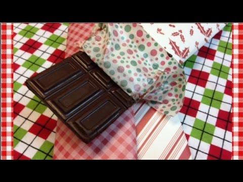 Homemade Milk Chocolate Bars ~ Gifts from Noreen's Kitchen