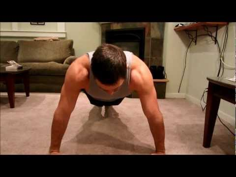 HOME CHEST WORKOUT - PUSH UP WORKOUT
