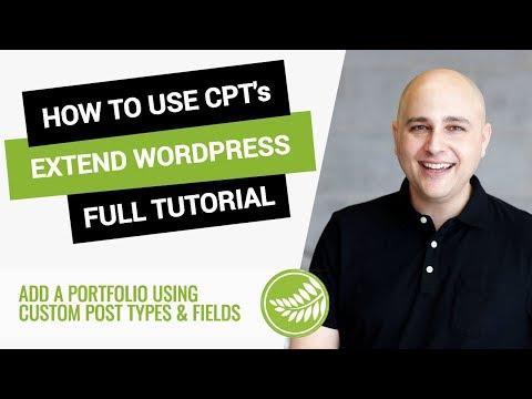 How To Extend WordPress With Custom Post Types & Custom Fields Using PODS