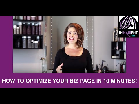 How to optimize your Facebook business Page in 10 minutes!