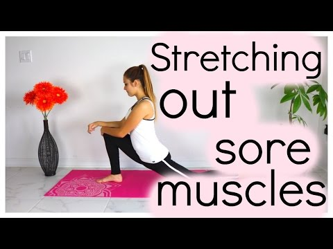 Stretching Out Sore Muscles