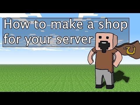 How to create a server sign shop. Essentials bukki