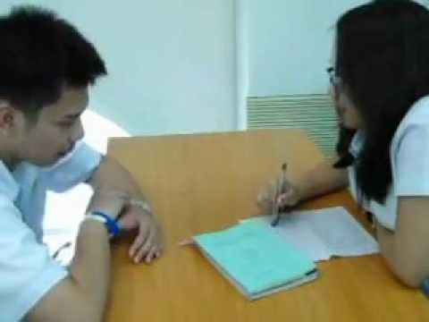 interview simulation--counseling
