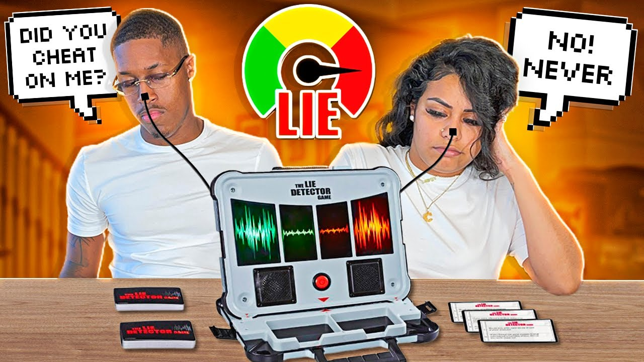 COUPLES LIE DETECTOR TEST (SHE FINALLY TELLS THE TRUTH!!!)
