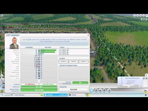 SimCity 5 - Tutorial - How to make 1 million in 20 min