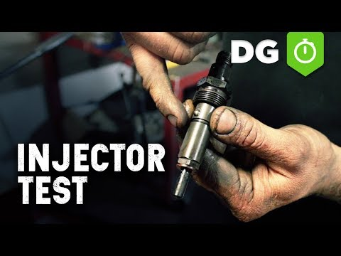 Diesel Fuel Injector Test (Mechanical)