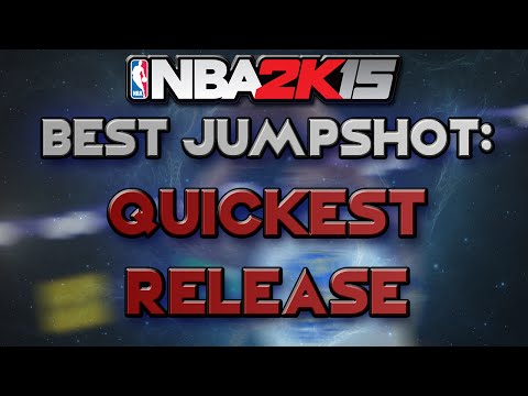 NBA 2K15 BEST Jump Shot + Quickest Release! How to Score Fast Shots in NBA 2K15 PS4!
