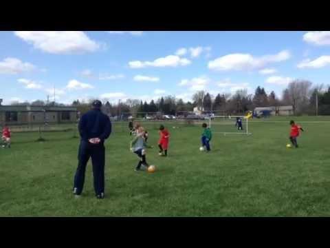 Youth Soccer Coaching Clinic part 1: Basic Skills