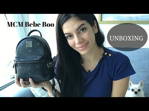 Unboxing: MCM X Mini STARK Back Pack Bebe Boo