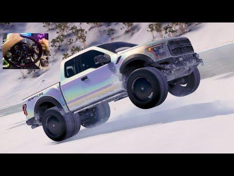 FH3 MODS Blizzard Mountain - 3500HP Raptor Monster Truck