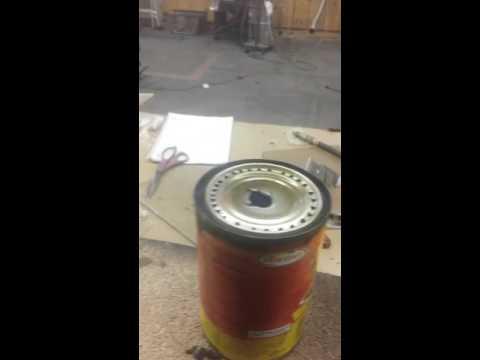 Tin can alcohol stove tutorial