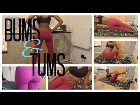 My Workout Routine: Bums & Tums