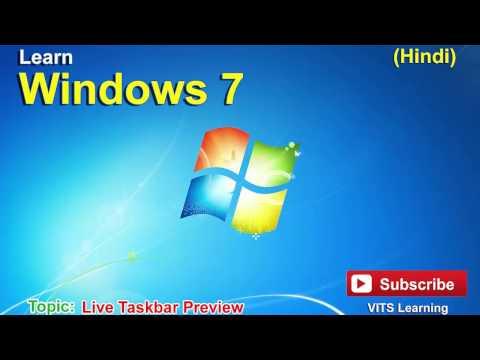 7 Windows 7   Live Taskbar Preview