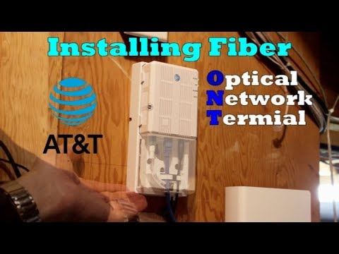 AT&T Fiber Installation