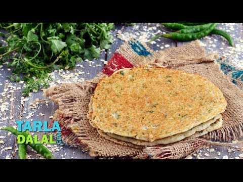 Instant Oats Dosa, South Indian Snack by Tarla Dalal