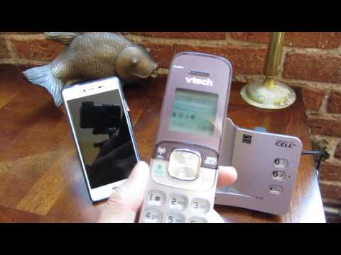 VTech Connect to Cell - How to Answer a Call, Dialing Out through Cell Phone