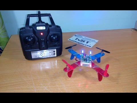 DIY Mini Quadcopter - How to build a quadcopter V2