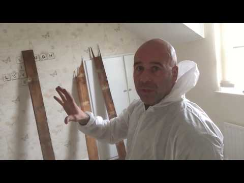 How do you prepare for timber treatments (common furniture beetle)