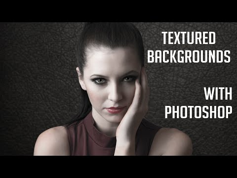 Creating Textured Backgrounds in Photoshop