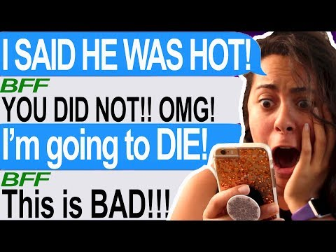 I Told My Crush I Like Him BY ACCIDENTALLY TEXTING HIM! -- (Tap | Accidental Confession)