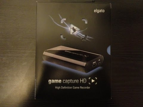 Elgato Game Capture HD Unboxing!