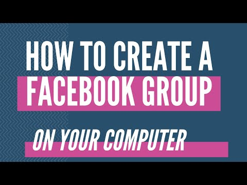 how to create a facebook group on computer 2017 - Facebook Tutorial