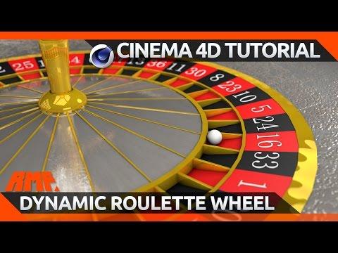 Cinema 4D Tutorial - Build a Dynamic Roulette Wheel