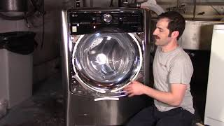 First Look: LG WM9000HVA 5.2 cubic foot Front Load Washer + Quick Wash