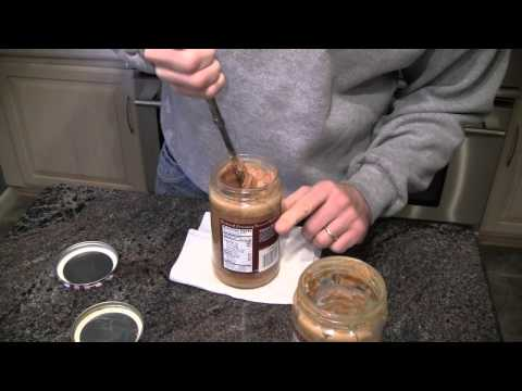 How to Stir Old Fashioned Natural Peanut Butter