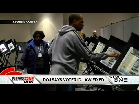 DOJ Says The New Texas Voter ID Law Fixes All Discrimination Found By Courts