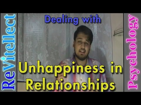 Unhappy in Relationship? Here's What to Do | Relationship Dissatisfaction | Psychology