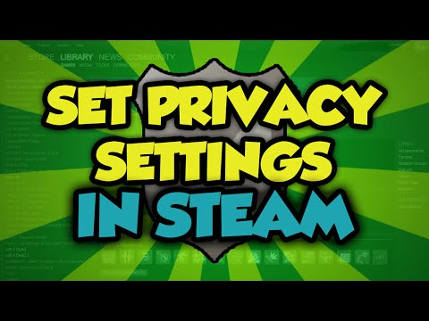 How to Set Steam Account Privacy Settings 2016 - How to Change Your Steam Privacy Settings