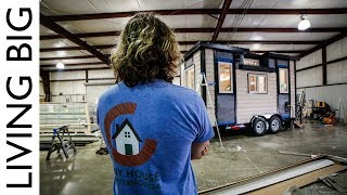 Building A Tiny House From Start To Finish!