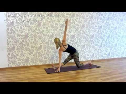 Shoulder nourishing yoga flow
